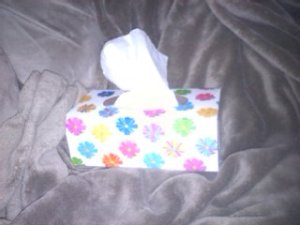 Tissues & Blanket